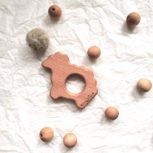 bükkfa bárány rágóka fa golyókkal