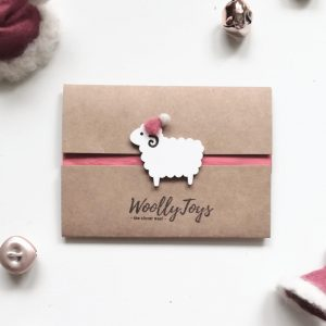 WoollYToys karácsonyi ajándékkártya