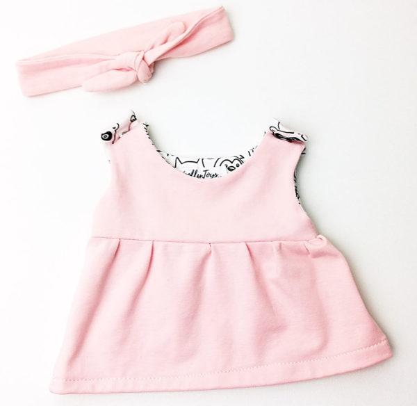 kislány babaruha rózsaszín