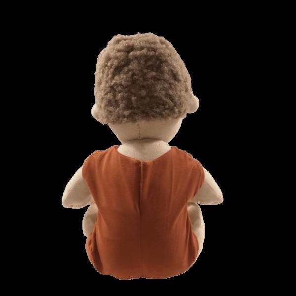 Down-szindrómás waldorf jellegű játékbaba